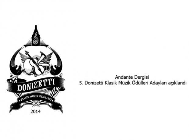 Donizetti Klasik Müzik Ödülleri 4 Aralık'ta Sahiplerini Bulacak