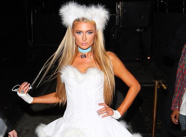Paris Hilton'un Cadılar Bayramı Kostümü