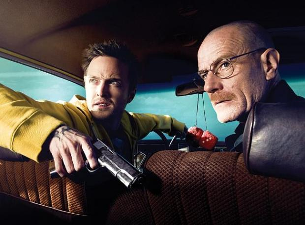 """Breaking Bad"" İkilisinden Komedi!"