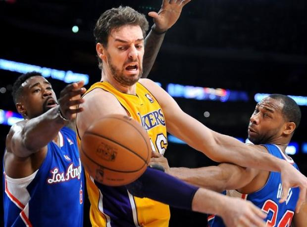 Clippers'tan Lakers'a Tarihi Fark