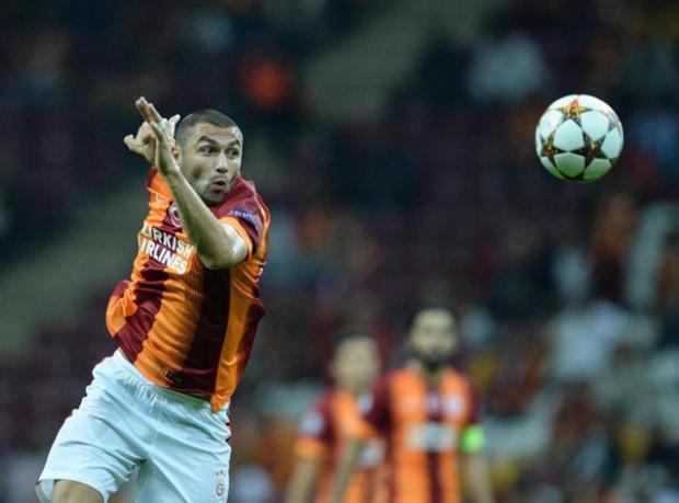Galatasaray'ı Burak Kurtardı