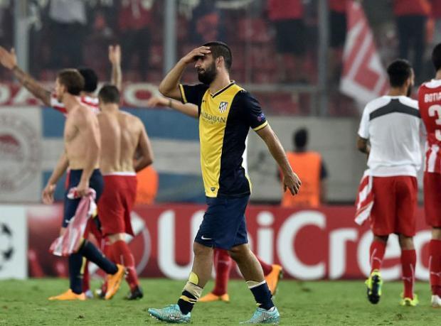 Atletico Madrid Üzgün Ayrıldı