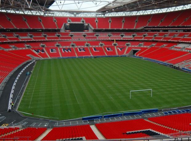 Final Wembley'de