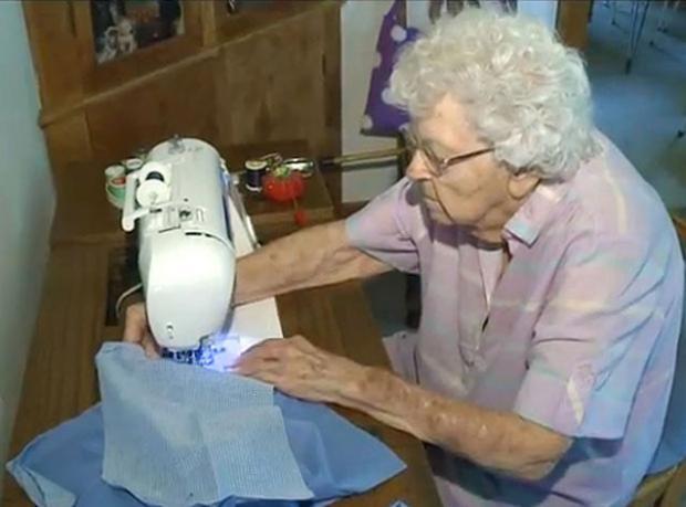 99 Yaşında ve Elinden Geleni Yapıyor!