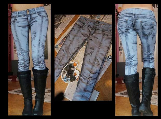 Dünyanın İlk 2D Kot Pantolonu!