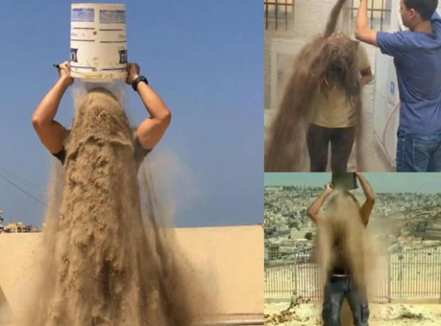 Gazze İçin Bir Kova Kum!