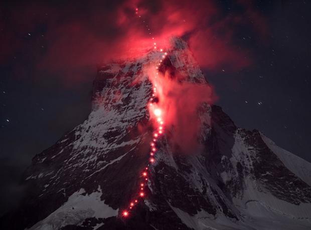 Alpler'de Fantastik Bir Tırmanış!