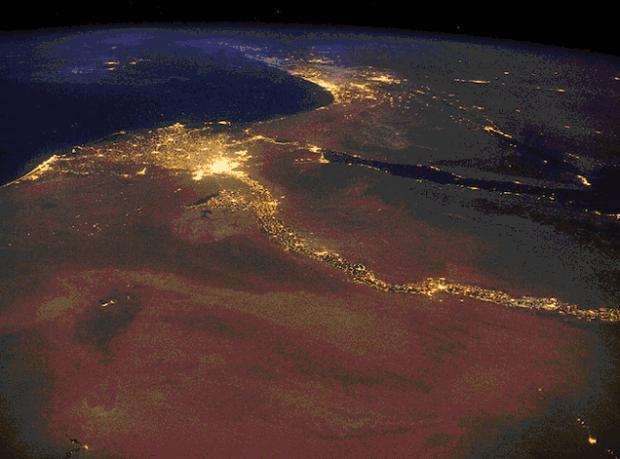 Uzaydan Muhteşem Dünya Manzaraları