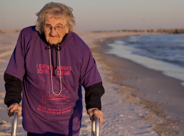 100 Yaşında İlk Kez Denizi Gördü