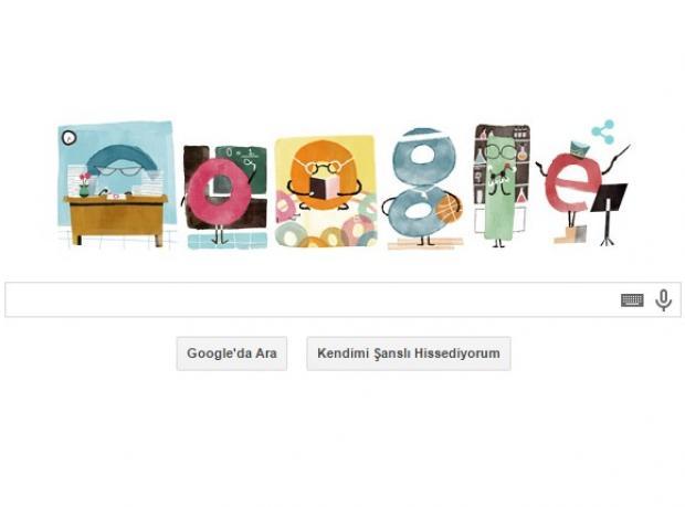 Google'dan Anlamlı Jest