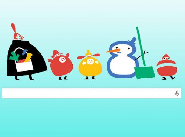 Google Kışa Hazır!