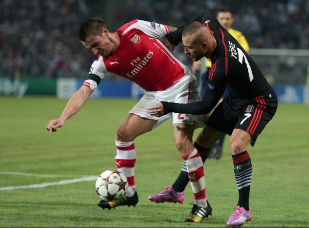 Beşiktaş Londra'da tur peşinde