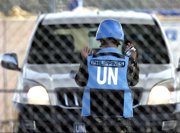 'Suriyeli isyancılar BM askerlerine saldırdı'