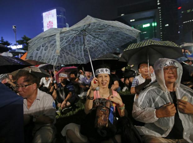 Hong Kong'ta Çin karşıtı protestolar