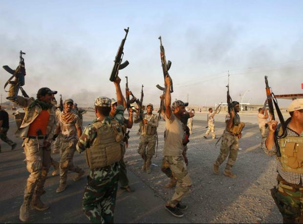 Irak güçleri IŞİD'e karşı ilerliyor