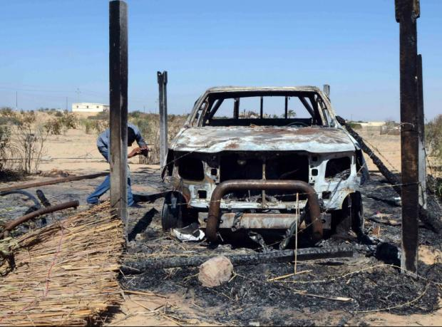 Mısır: Sina'daki patlamada 6 polis öldü