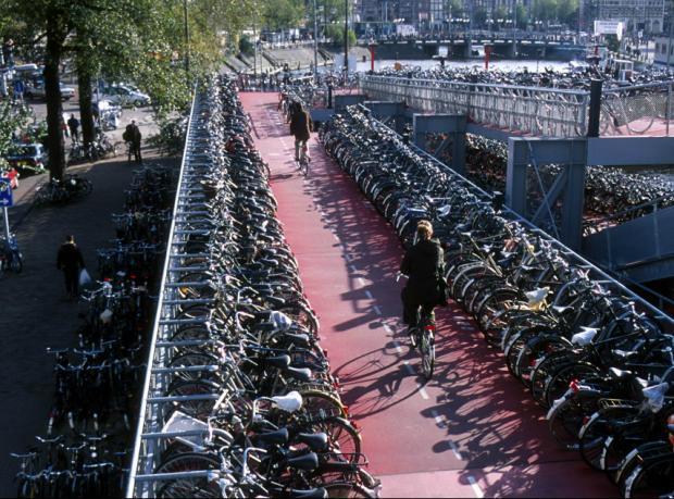 Dünyanın en büyük bisiklet parkının temeli atıldı