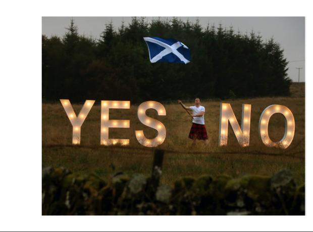 İskoçya'da referandum kampanyalarında son gün