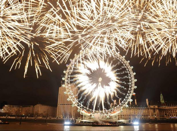 Londra: Yılbaşı kutlamaları artık biletli
