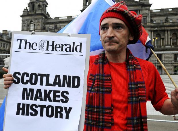 İskoçya bağımsızlığa 'Hayır' dedi