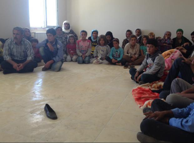 IŞİD'den kaçtı, sınırda mayına bastı
