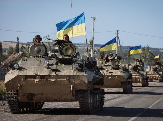 Ukrayna doğudaki topçu güçlerini çekiyor