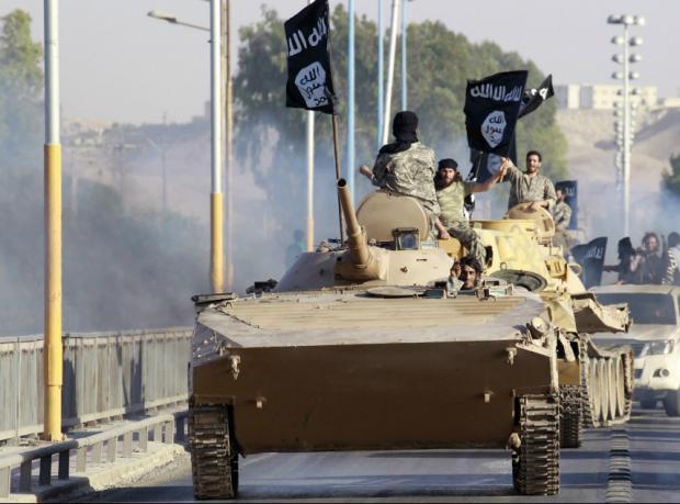 ABD Suriye'de IŞİD hedeflerini vuruyor