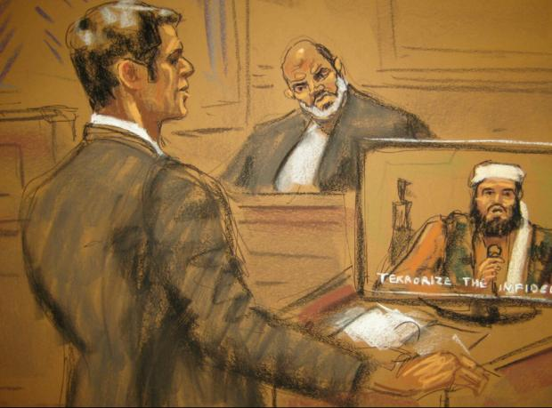 Usame Bin Ladin'in damadına ABD'de ömür boyu hapis