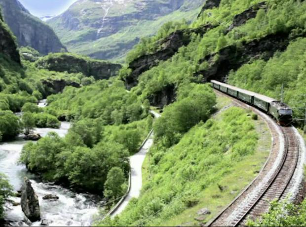 Dünyanın en güzel tren yolculuğu