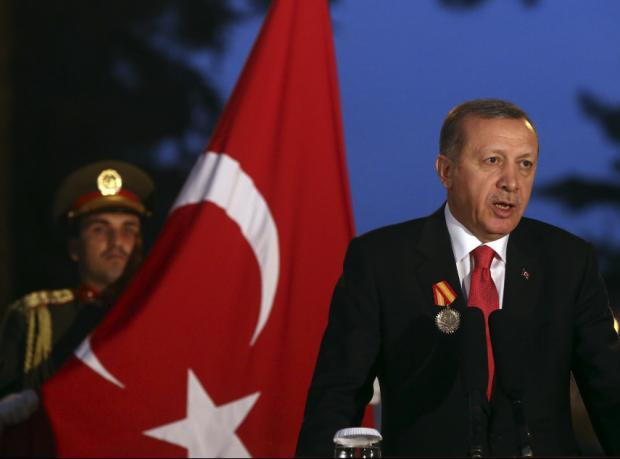 """Erdoğan: """"PYD'ye silah göndermeye 'evet' diyemeyiz"""""""