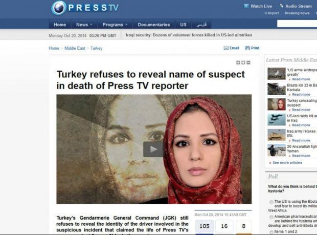 Press TV: Türkiye'deki muhabirimizin 'ölümü şüpheli'