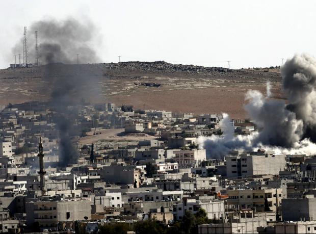 Kobani: Yardım paketlerinden biri IŞİD'in elinde mi?