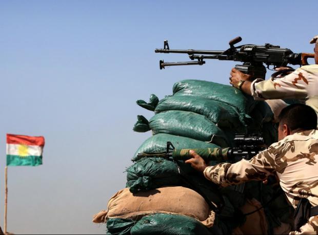 Kobani'ye ilk aşamada 200 Peşmerge