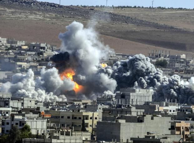 Kobani: Til Şeir tepesi IŞİD'in eline geçti