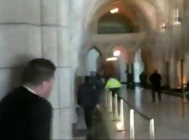 Kanada parlamentosunda saldırı sonrası ilk oturum