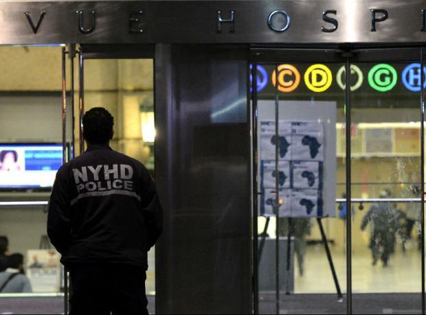 New York'lu hastanın 'Ebola testi pozitif çıktı'
