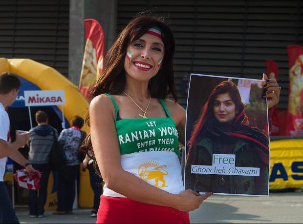 İran: Voleybol maçı için tutuklanan kadın serbest