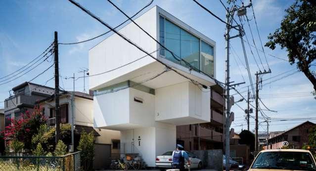 Dünyanın En Farklı Evleri Tokyo'da