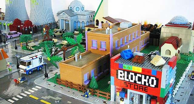 Takıntılı Hayrandan Simpson's Kasabası
