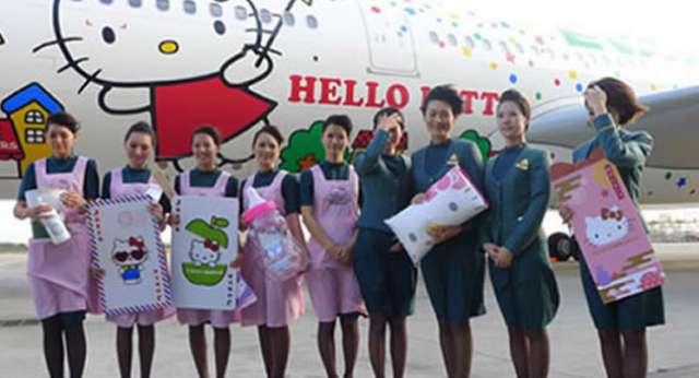 Hello Kitty Hava Yolları!