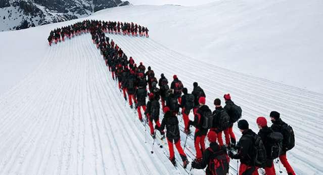 Alpleri Kaplayan Dağcılar