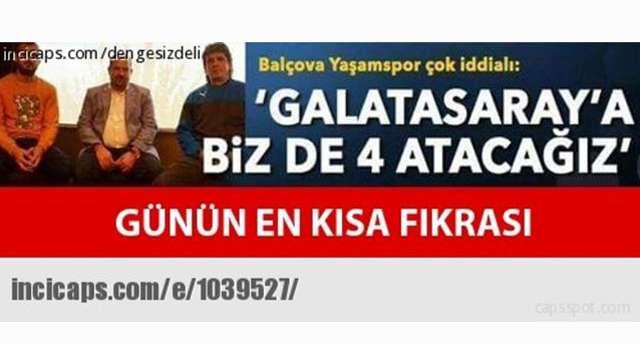 Galatasaray'ın Keyfi Yerinde