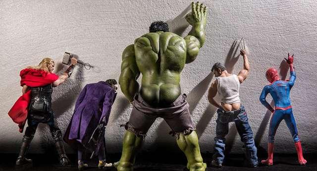 Süper Kahramanların Gizli Dünyası