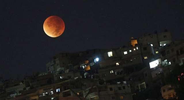 Süper Ay Tutulması Gerçekleşti!